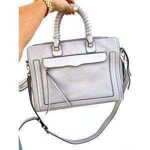 Rebecca Minkoff Bree Leather Top Zip Satchel Bag